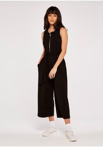 Apricot Jumpsuit »Zip Front Culotte Jumpsuit«, mit Reißverschluss kaufen