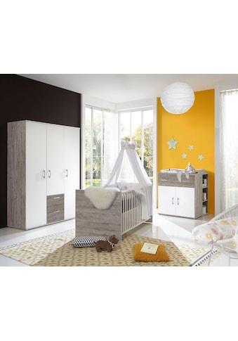 arthur berndt Babyzimmer-Komplettset »Franzi«, (Set, 4 St.), Made in Germany; mit... kaufen