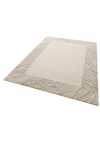Theko Exklusiv Wollteppich »Kübra«, rechteckig, 14 mm Höhe, reine Wolle, mit Bordüre,... kaufen