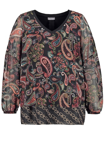 Samoon Blusenshirt »2 - in - 1 Bluse mit Paisleymuster« kaufen