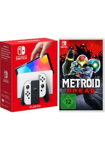 Nintendo Switch Konsolen-Set, OLED-Modell inkl. Metroid Dread kaufen