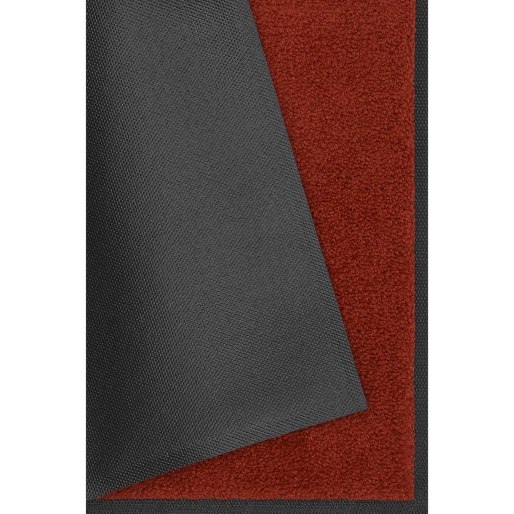 wash+dry by Kleen-Tex Fußmatte »Original Uni«, rechteckig, 7 mm Höhe, Schmutzfangmatte, In- und Outdoor geeignet, waschbar