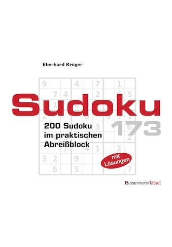 Buch »Sudoku Block 173 (5 Exemplare à 2,99 EUR) / Eberhard Krüger« kaufen