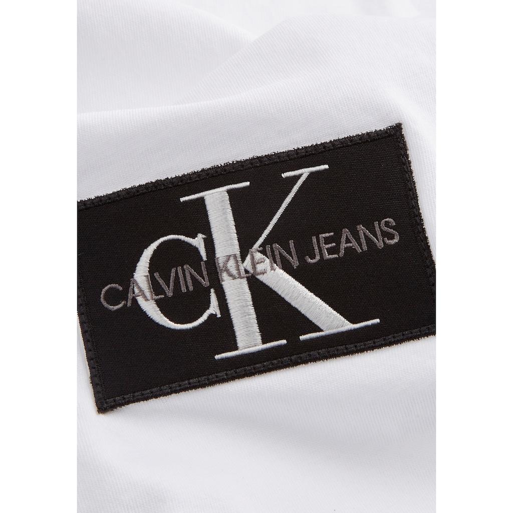 Calvin Klein Jeans T-Shirt »BADGE TURN UP SLEEVE«
