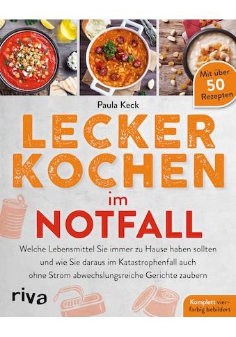 Buch »Lecker kochen im Notfall / Paula Keck« kaufen