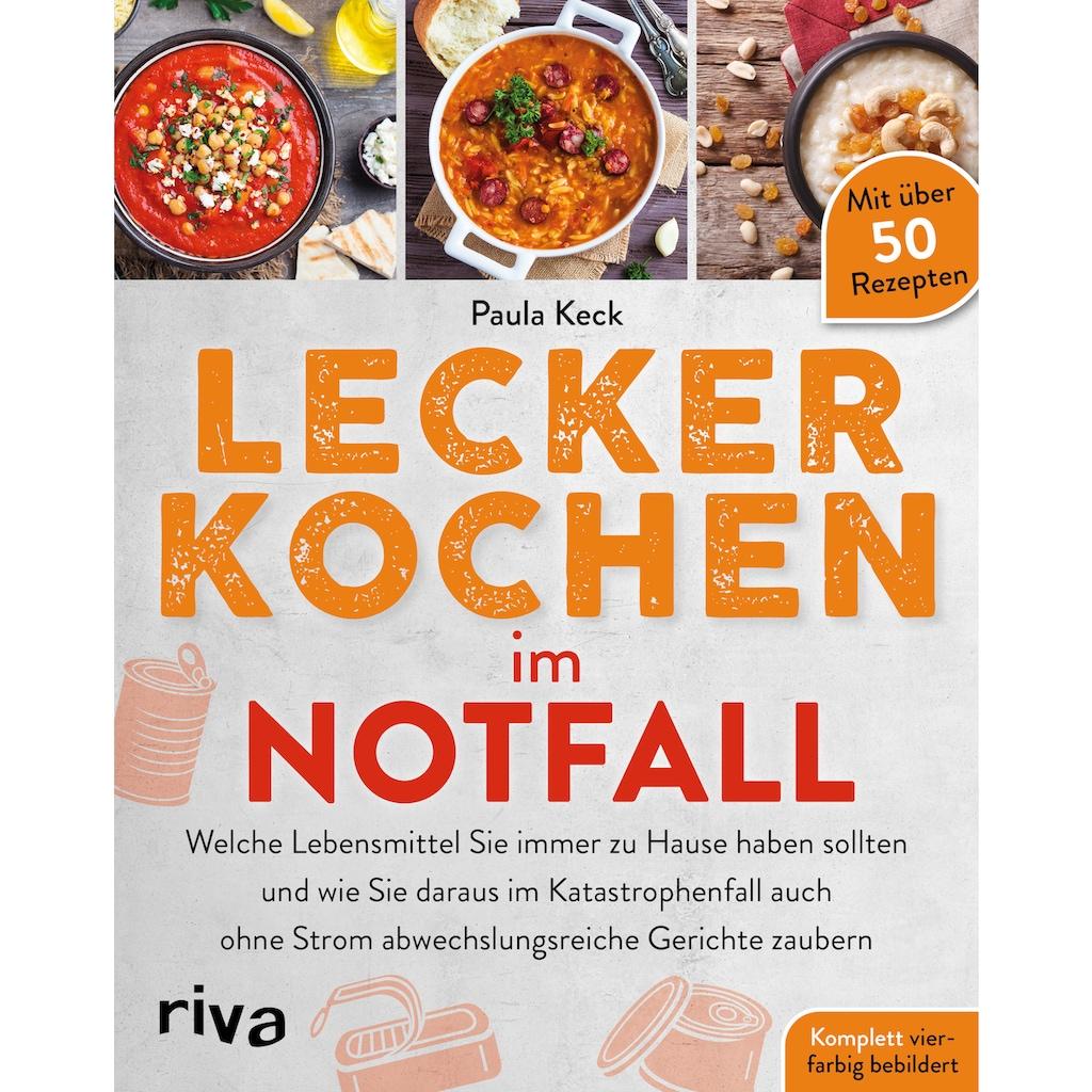 Buch »Lecker kochen im Notfall / Paula Keck«