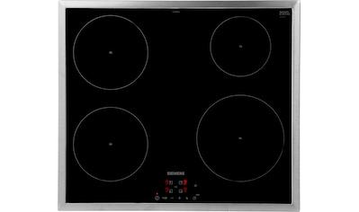 SIEMENS Induktions-Kochfeld von SCHOTT CERAN®, EH645BEB1E, mit Timer kaufen