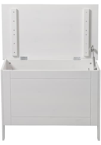 welltime Wäschekorb »Venezia«, Breite 70 cm, aus Massivholz kaufen