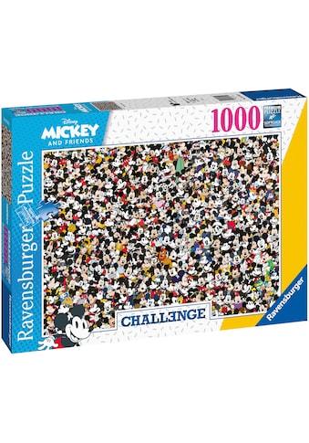 Ravensburger Puzzle »Challenge Mickey«, FSC® - schützt Wald - weltweit; Made in Germany kaufen