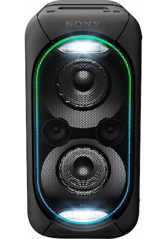 Sony Lautsprechersystem »GTK-XB60«, Wireless Party Chain: XB20 bis XB90 können zu einer Party Chain verbunden werden, Vertikaler & Horizontaler Sound Mode, mit handlichem Tragegriff kaufen