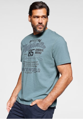 Man's World T-Shirt, mit Print kaufen