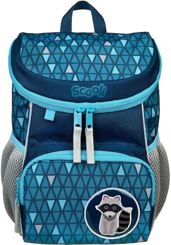 Scooli Kinderrucksack »Mini-Me, Rickie Racoon«, Reflektoren kaufen