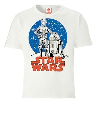LOGOSHIRT T - Shirt mit lizenziertem Originaldesign »Star Wars  -  Droids« kaufen