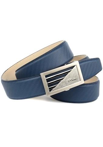 Anthoni Crown Ledergürtel, mit sportlich-eleganter Schnalle kaufen