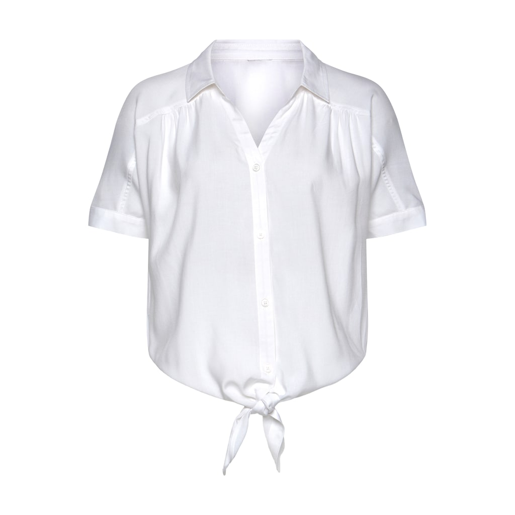 Buffalo Hemdbluse, mit Knotendetail