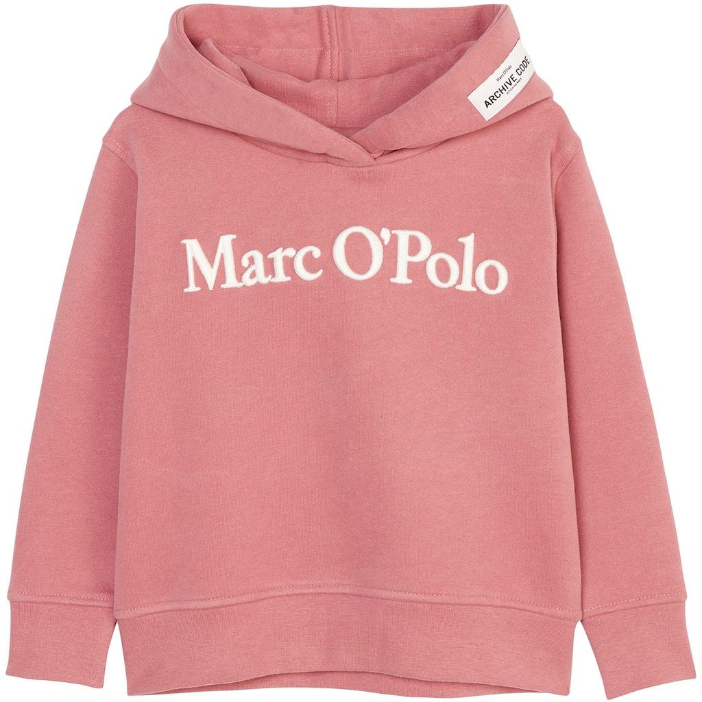 Marc O'Polo Junior Kapuzensweatshirt, in Basicform