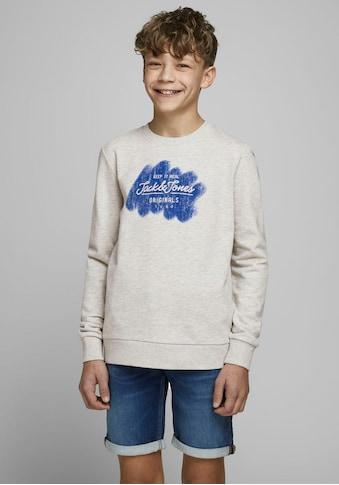 Jack & Jones Junior Sweatshirt »JORTORINO SWEAT CREW NECK« kaufen