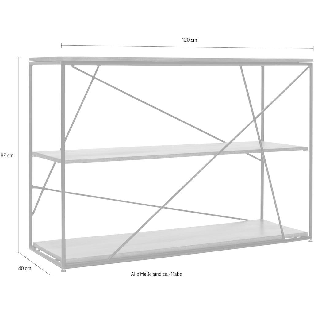 TOM TAILOR Regal »T-NEST SHELF SMALL«, aus Mangoholz, Breite 120 cm