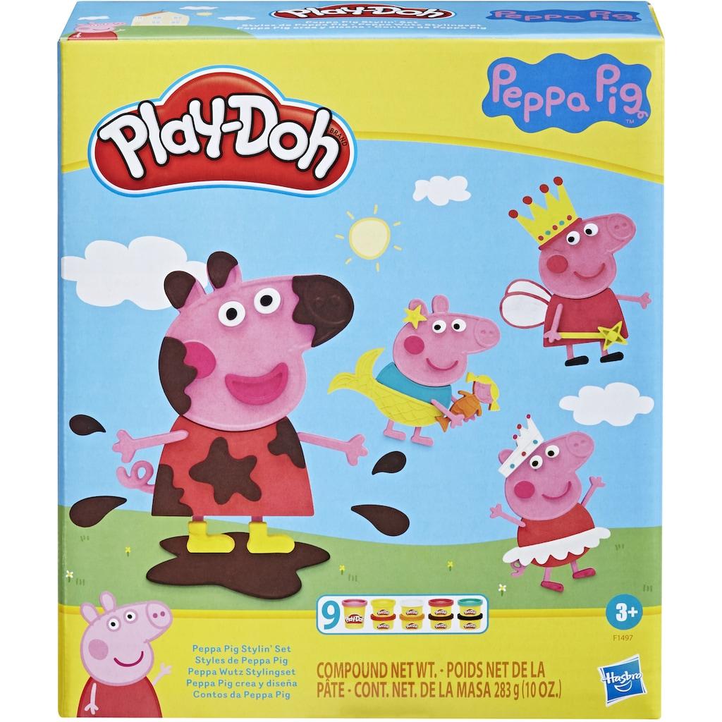 Hasbro Knete »Play-Doh Peppa Wutz Stylingset«