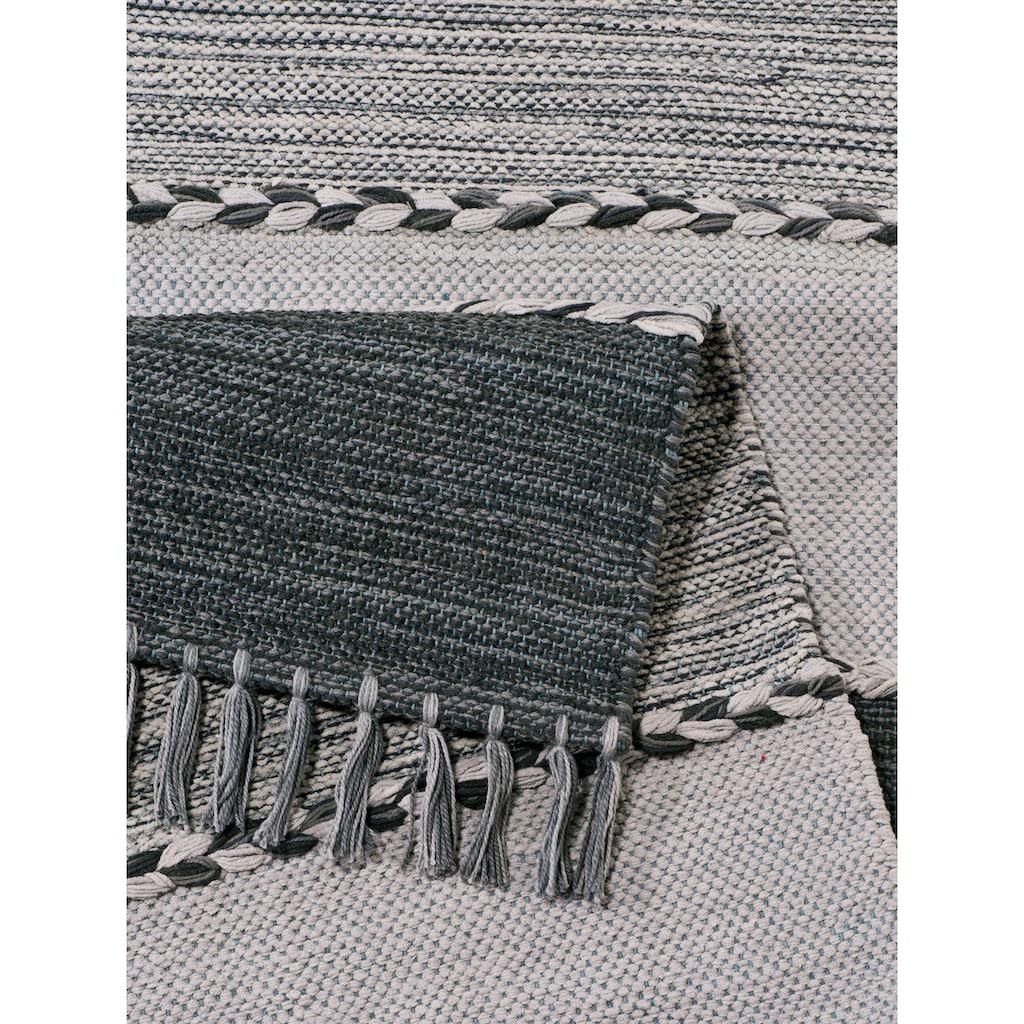 Home affaire Teppich »Eden«, rechteckig, 5 mm Höhe, Wendeteppich, Wohnzimmer