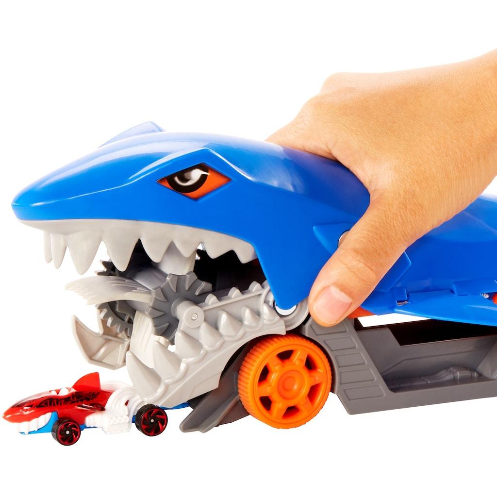 Hot Wheels Spielzeug-Transporter »Hungriger Hai-Transporter«