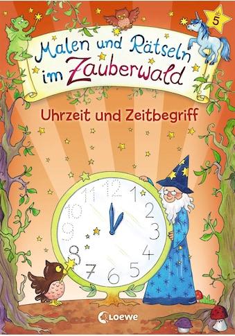 Buch »Malen und Rätseln im Zauberwald - Uhrzeit und Zeitbegriff / Corina Beurenmeister« kaufen