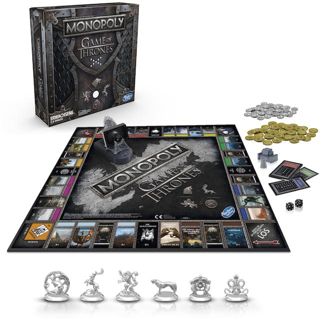 Hasbro Spiel »Monopoly Game of Thrones«, mit Game of Thrones Soundtrack