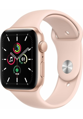 Apple Smartwatch »Apple Watch Series SE GPS, Aluminium, 44 mm mit Sportarmband« kaufen