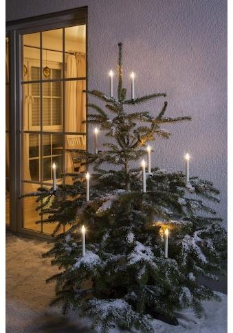 KONSTSMIDE LED Baumbeleuchtung, 10 kabellose Kerzen kaufen