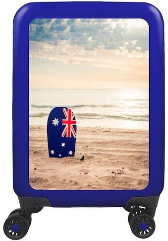 """meinTrolley Hartschalen - Trolley """"Australien, 55 cm"""", 4 Rollen kaufen"""
