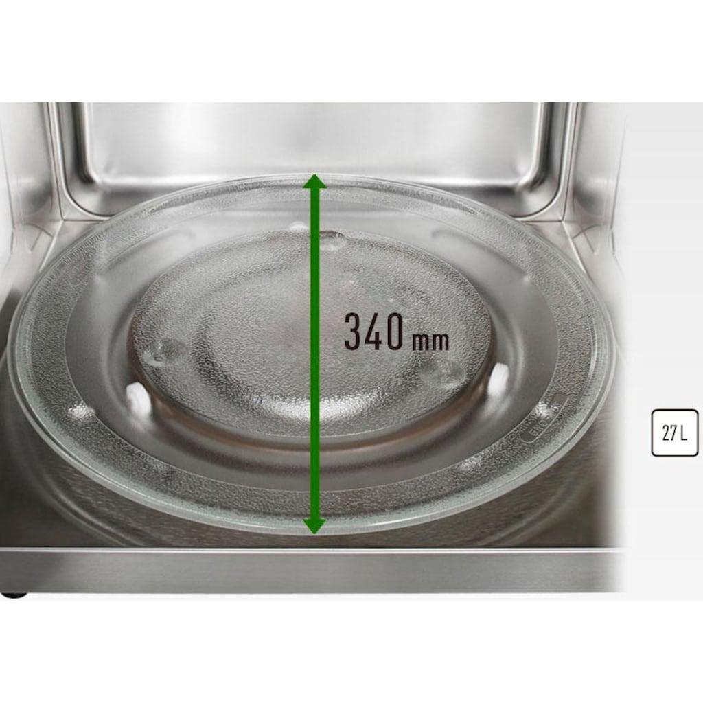Panasonic Mikrowelle »NN-CT56JBGPG«, Grill und Heißluft, 1000 W