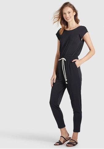 khujo Jumpsuit »RAMONE«, mit kontrastfarbenen Bindeband in der Taille kaufen