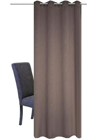 Vorhang, »UNIVERSUM«, HOME WOHNIDEEN, Ösen 1 Stück kaufen