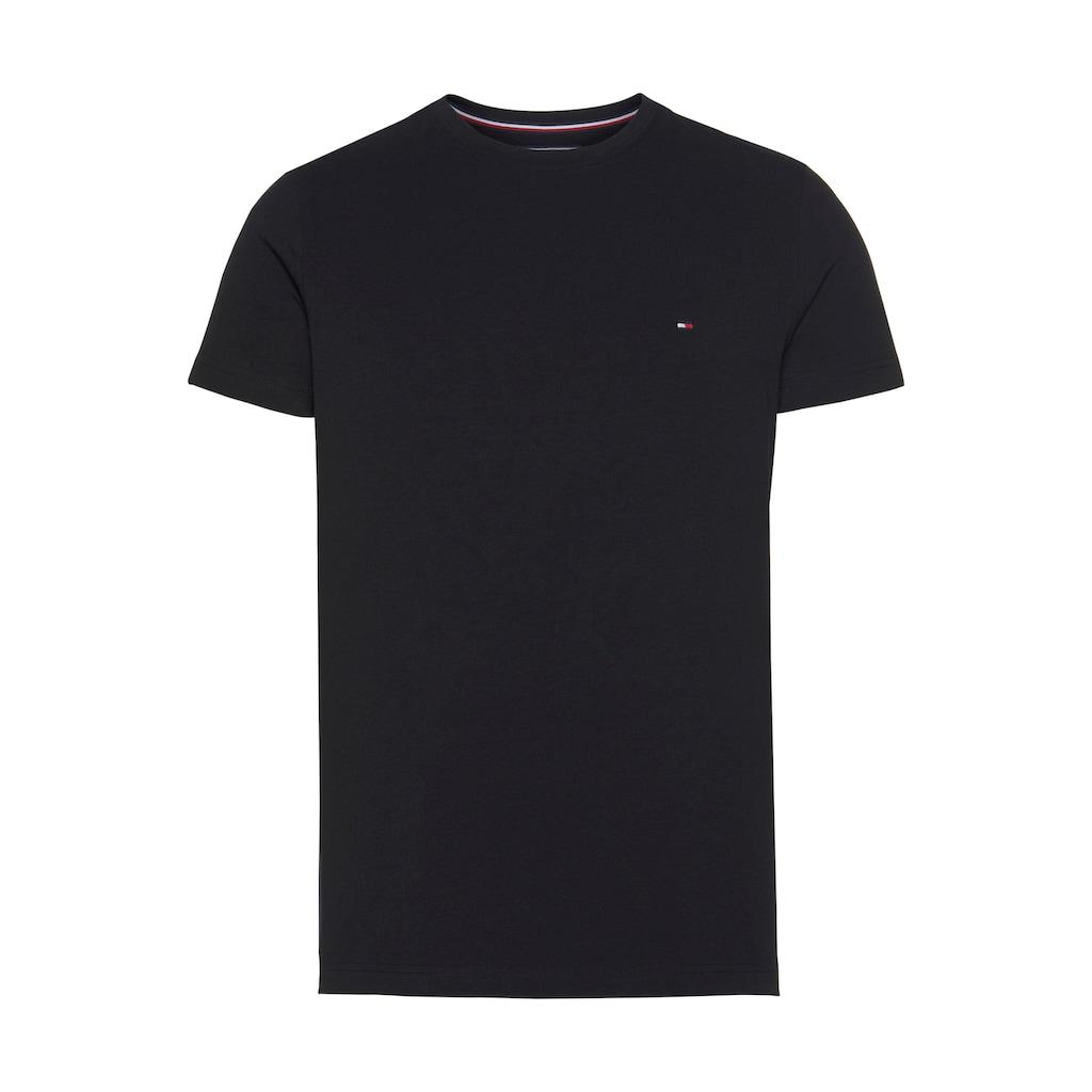 TOMMY HILFIGER T-Shirt »CORE STRETCH SLIM CNECK TEE«
