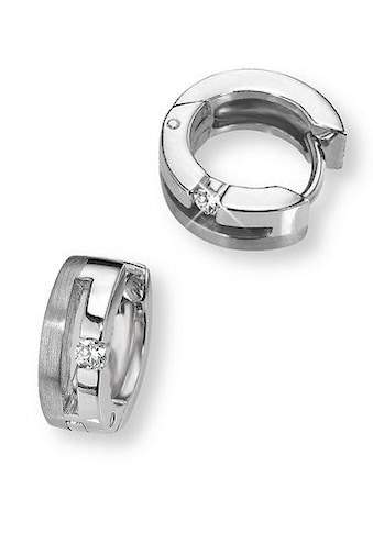 Amor Paar Creolen »9757923«, mit Zirkonia kaufen