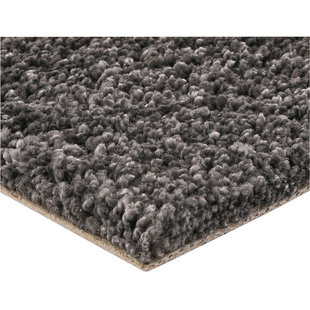 Bodenmeister Teppichboden »Hochflor Velours«, rechteckig, 12 mm Höhe, Meterware, Breite 500 cm, uni, Wunschmaß