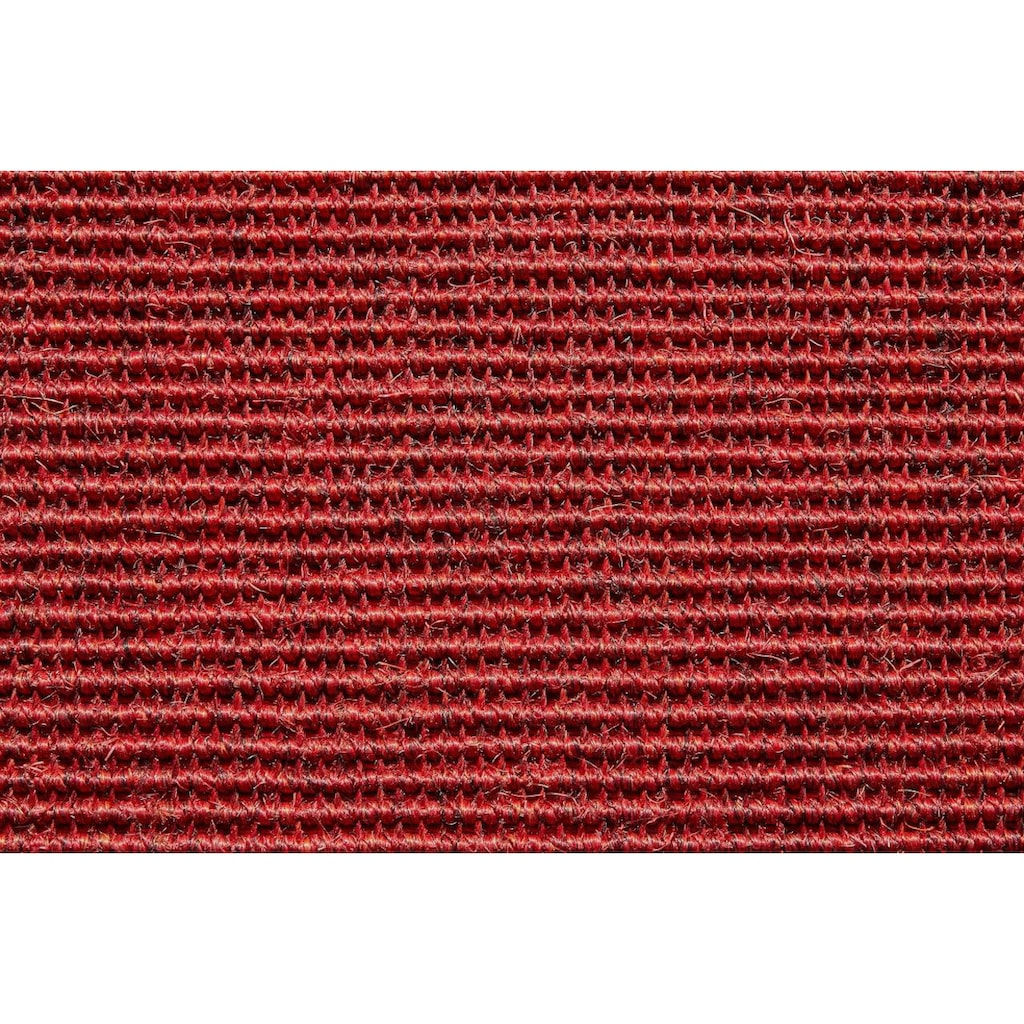 Dekowe Sisalteppich »Mara S2 mit Bordüre, Wunschmaß«, rechteckig, 5 mm Höhe, Flachgewebe, Obermaterial: 100% Sisal, Wohnzimmer