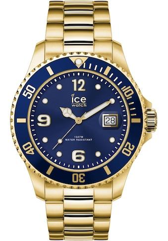 ice-watch Quarzuhr »ICE steel - Gold blue - Large - 3H, 16762« kaufen