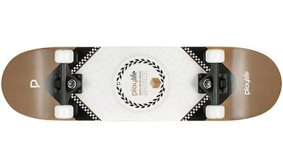 Playlife Skateboard »Heavy Metal Bronze« kaufen