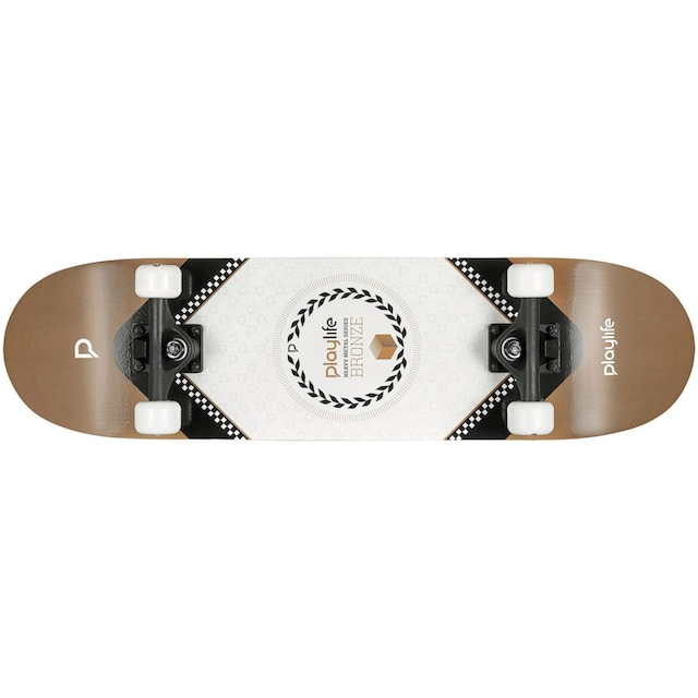 Playlife Skateboard »Heavy Metal Bronze«