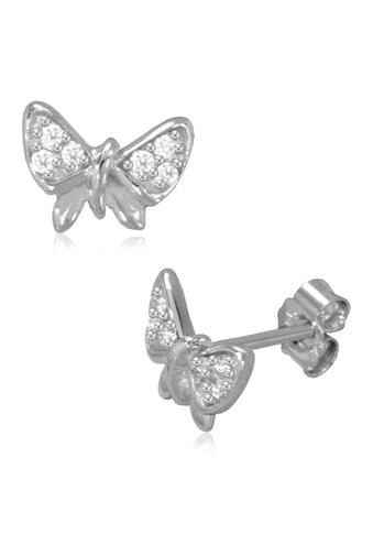 Firetti Paar Ohrstecker »glänzende Schmetterlinge«, mit Zirkonia kaufen