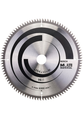 BOSCH Kreissägeblatt »Multi Material«, 254 x 30 x 3,2 mm; 96 kaufen