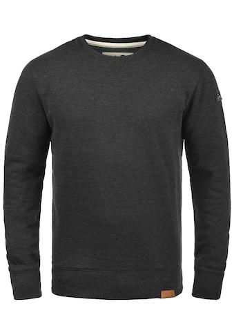 Solid Sweatshirt »Trip O-Neck«, Sweatpullover mit Fleece-Innenseite kaufen
