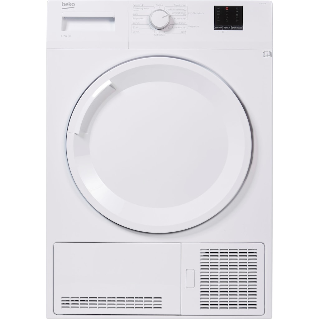 BEKO Kondenstrockner »DCU 7230 N«