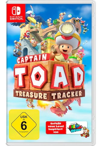 Nintendo Switch Spiel »Captain Toad: Treasure Tracker«, Nintendo Switch kaufen
