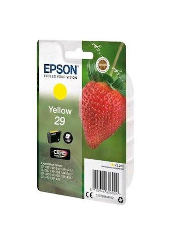 Epson Tintenpatrone »T2984 (29) gelb«, (1 St.) kaufen