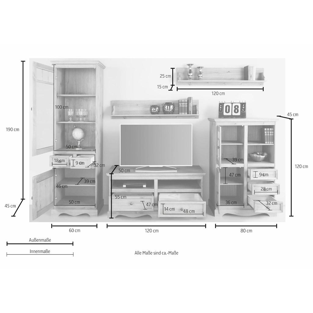 Home affaire Wohnwand »Melissa«, (Set, 5 St.)