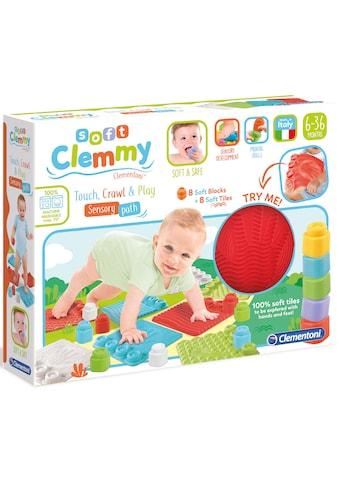 Clementoni® Spielbausteine »Soft Clemmy - Sensorische Spielmatten«, (16 St.) kaufen