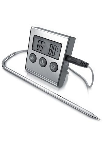 Arendo Grillthermometer »2 Modi - Messbereich -26° bis 250°C«, digital mit Edelstahlsonde kaufen