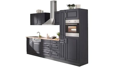 HELD MÖBEL Küchenzeile »Stockholm«, mit E - Geräten, Breite 310 cm kaufen